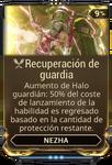 Recuperación de guardia