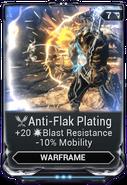 Anti-Flak Plating