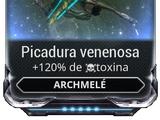 Picadura venenosa