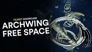 Archwing Free Space Tileset Showcase (Warframe)
