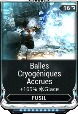 Balles Cryogéniques Accrues