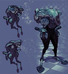Grineer Frogman Concept