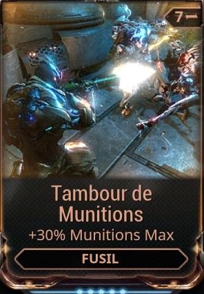 Tambour de Munitions