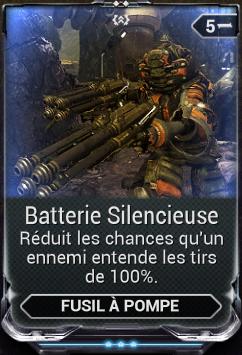 Batterie Silencieuse