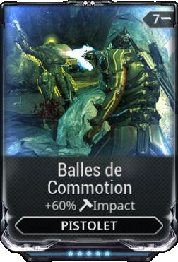 Balles de Commotion