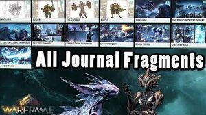 Warframe All Encrypted Journal Fragment Transmissions