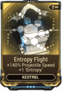 Entropy Flight