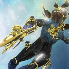 Warframe Nova Neuroptics – Nova uses electromagnetic energy to contain and control highly volatile antimatter that fuels her abilities.