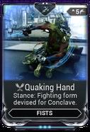 Quaking Hand