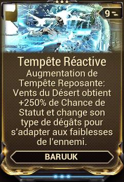 Tempête Réactive