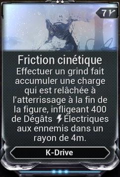 Friction Cinétique