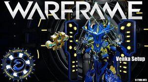 Warframe Updated Venka Setup 1x Forma