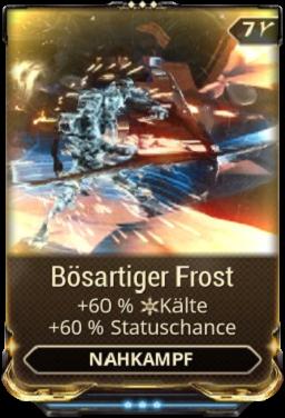 Bösartiger Frost