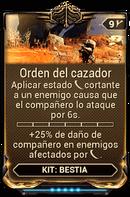 Orden del cazador