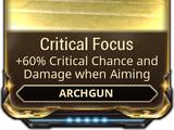 Critical Focus