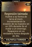 Regresión taimada