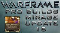 Warframe Mirage Hall Of Malevolence Update 15.1
