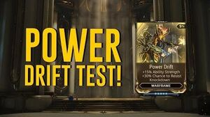 Power Drift Test & All You Need To Know Halls of Ascension (Warframe)