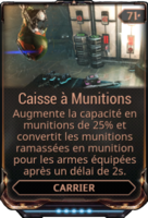 Caisse à munitions