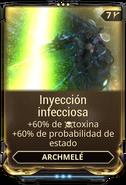 Inyección infecciosa