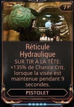 Réticule Hydraulique