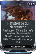 Rafistolage du Necramech