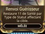 Renvoi Guérisseur