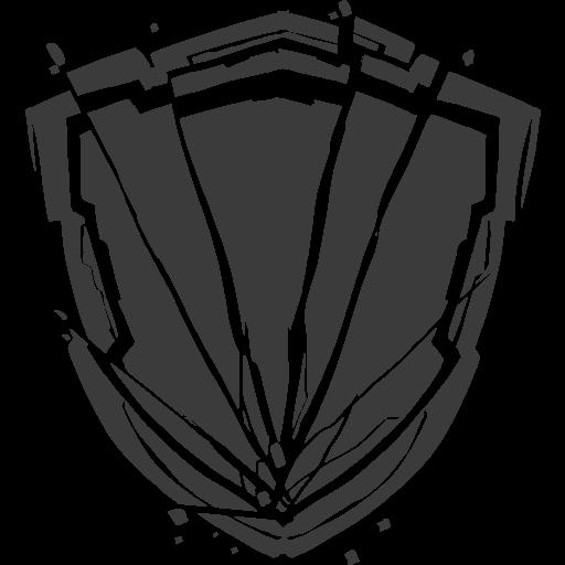 Schild-Wand