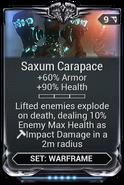 SaxumCarapaceMod