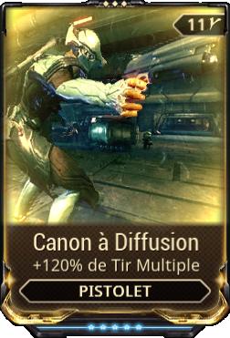 Canon à Diffusion