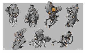 Warframe grineer underwater set characters by sbigham-d8tpedb