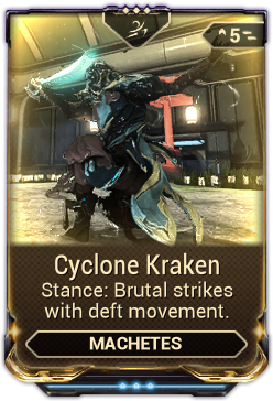 Cyclone Kraken