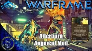 Warframe Chroma Afterburn Augment Mod (U16)