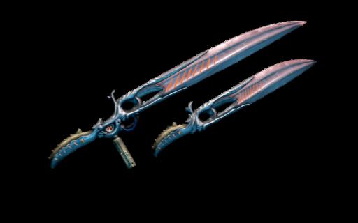 Espadas de calor dobles