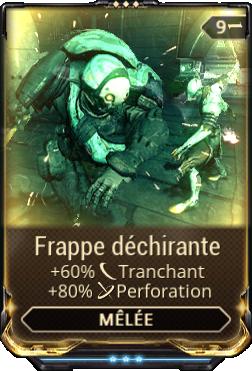 Frappe Déchirante