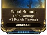 Sabot Rounds