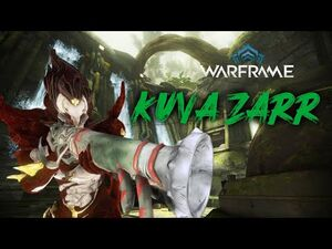 Kuva Zarr, Weapon & Build Comparison