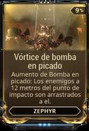 Vórtice de bomba en picado