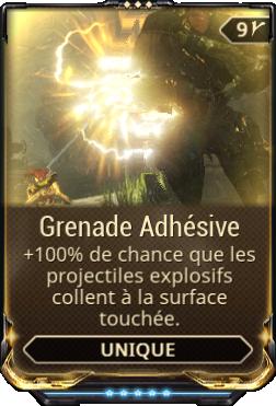 Grenade Adhésive