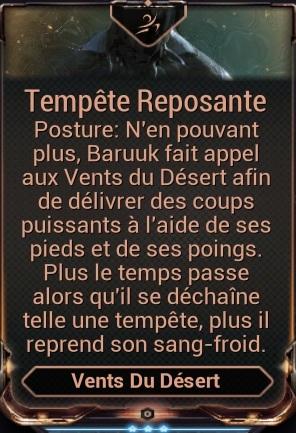 Tempête Reposante (Posture)