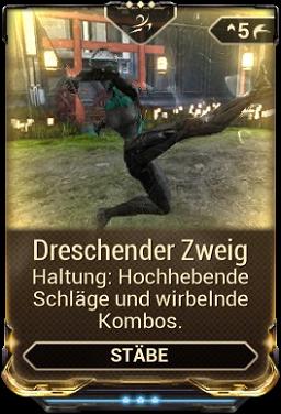 Dreschender Zweig