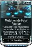 Mutation de Fusil Accrue