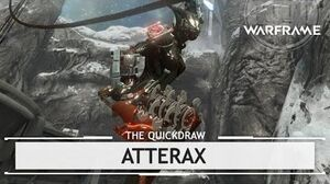 Warframe Atterax, 50 Shades of Red thequickdraw