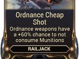 Ordnance Cheap Shot