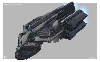 Sketch of the Orbiter
