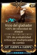 Vicio del gladiador