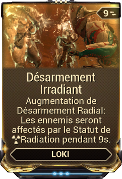 Désarmement Irradiant