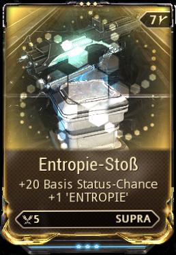 Entropie-Stoß