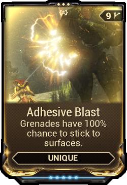 Adhesive Blast
