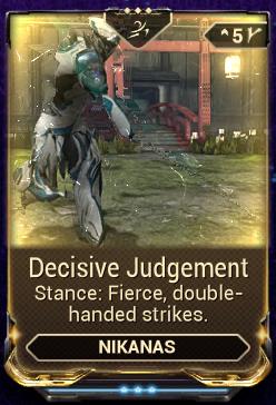 Decisive Judgement